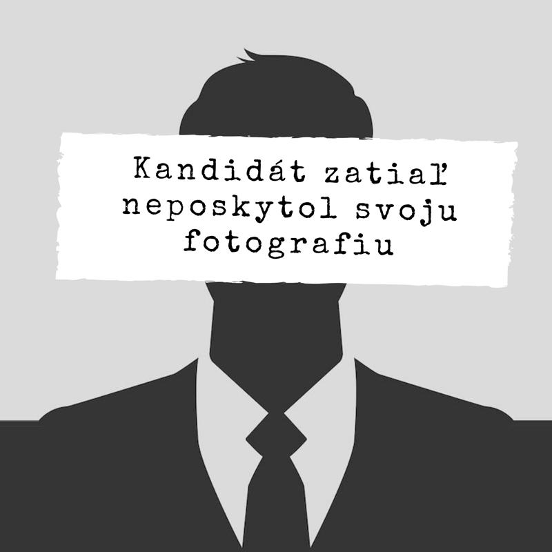 Kandidát neposkytol fotografiu